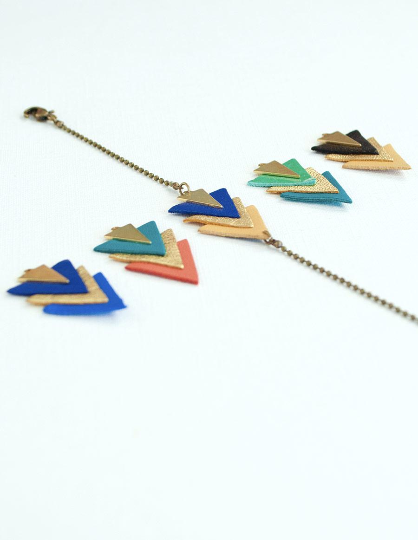 bracelet-eskimo-bijoux-createur-triangle-cuir-mementomori