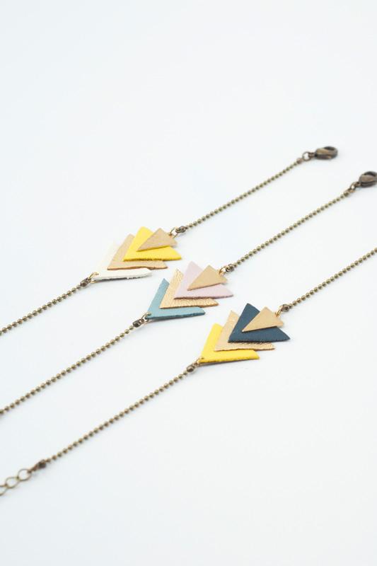 eskimo,bracelet,femme,createur,mementomori,bijou,laiton,dore