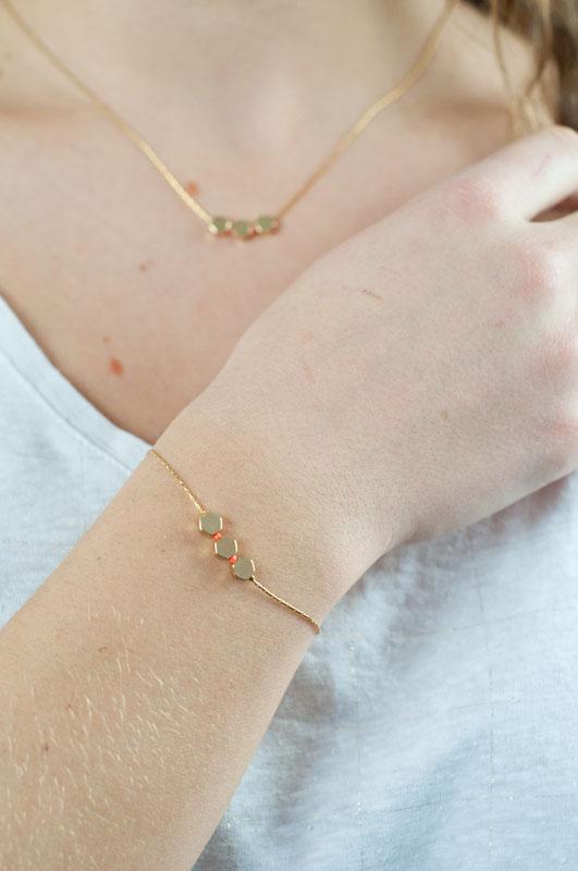 mementomori,bijoux,createur,fantaisie,or,perle,ballerina,bracelet,or,laiton