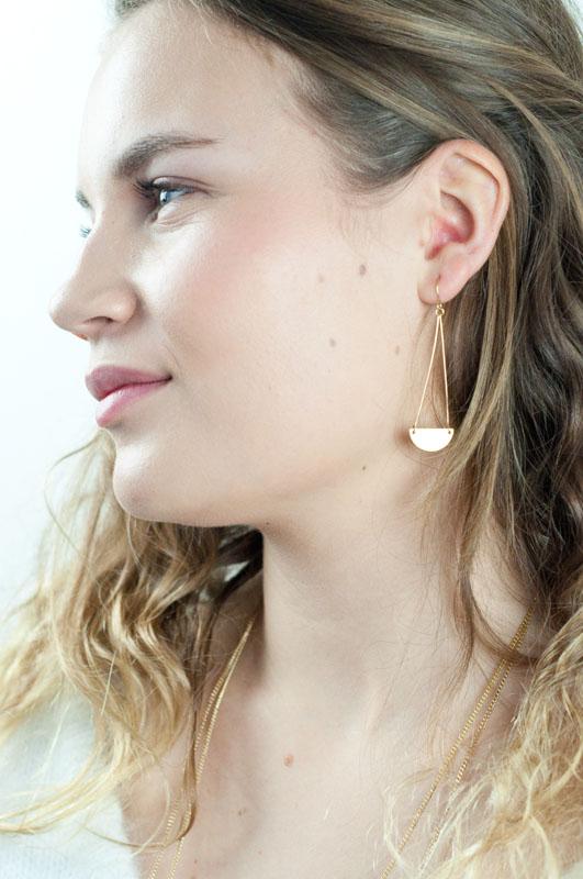 Mementomeri,bijoux,createur,boucles,oreilles,fantaisie,or,dore,laiton