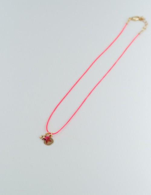 Mementomori,bijoux,createur,collier,sautoir,enfant,fille,tendance,or,laiton,etoile,fil
